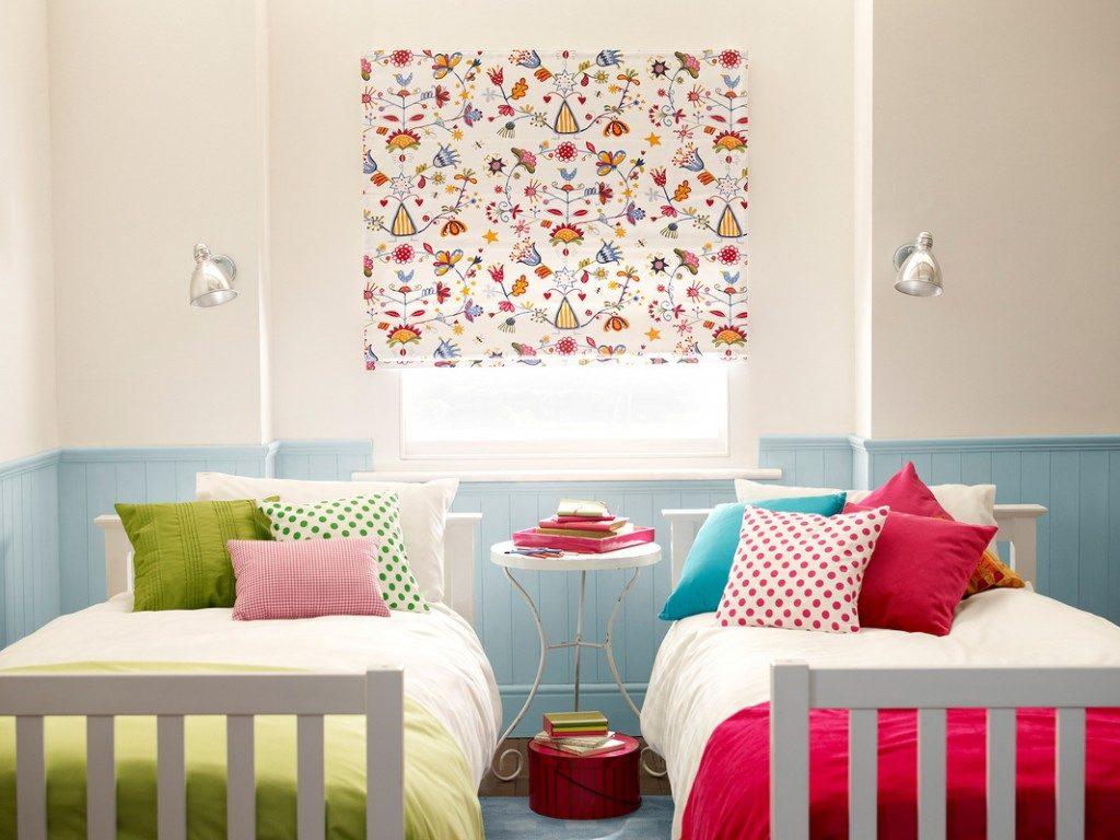 como hacer cortinas infantiles